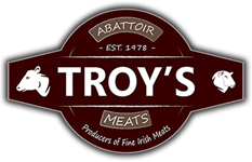 Troy's Meat logo